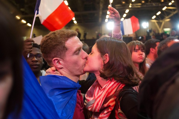 Babies were made the night of Mr. Macron's victory.