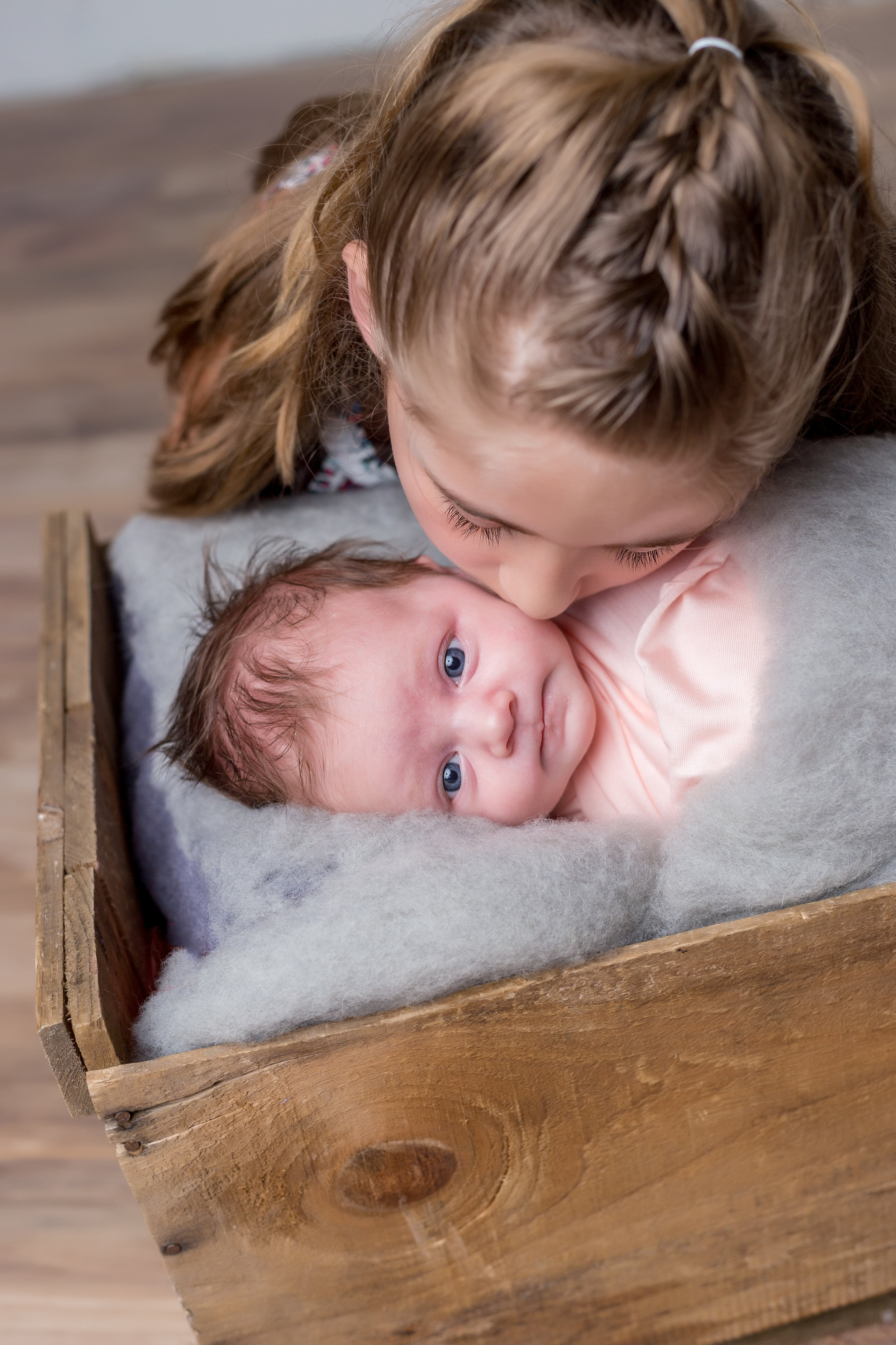 Sibling and Baby Newborn Session Long Island