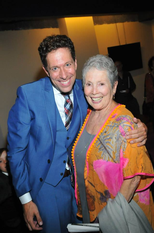 El Portal Theatre Opening Night %22Doris and Me%22 benefit for DDAF with Jackie Joseph.jpg