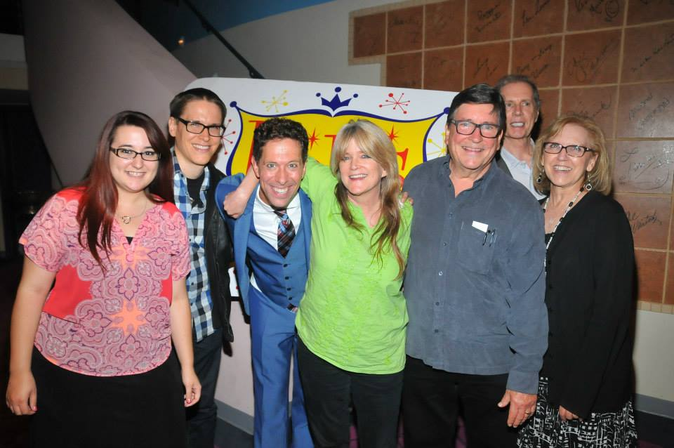 El Portal Theatre opening night benefit for DDAF of %22Doris and Me%22 with the wonderful Olsen family.jpg