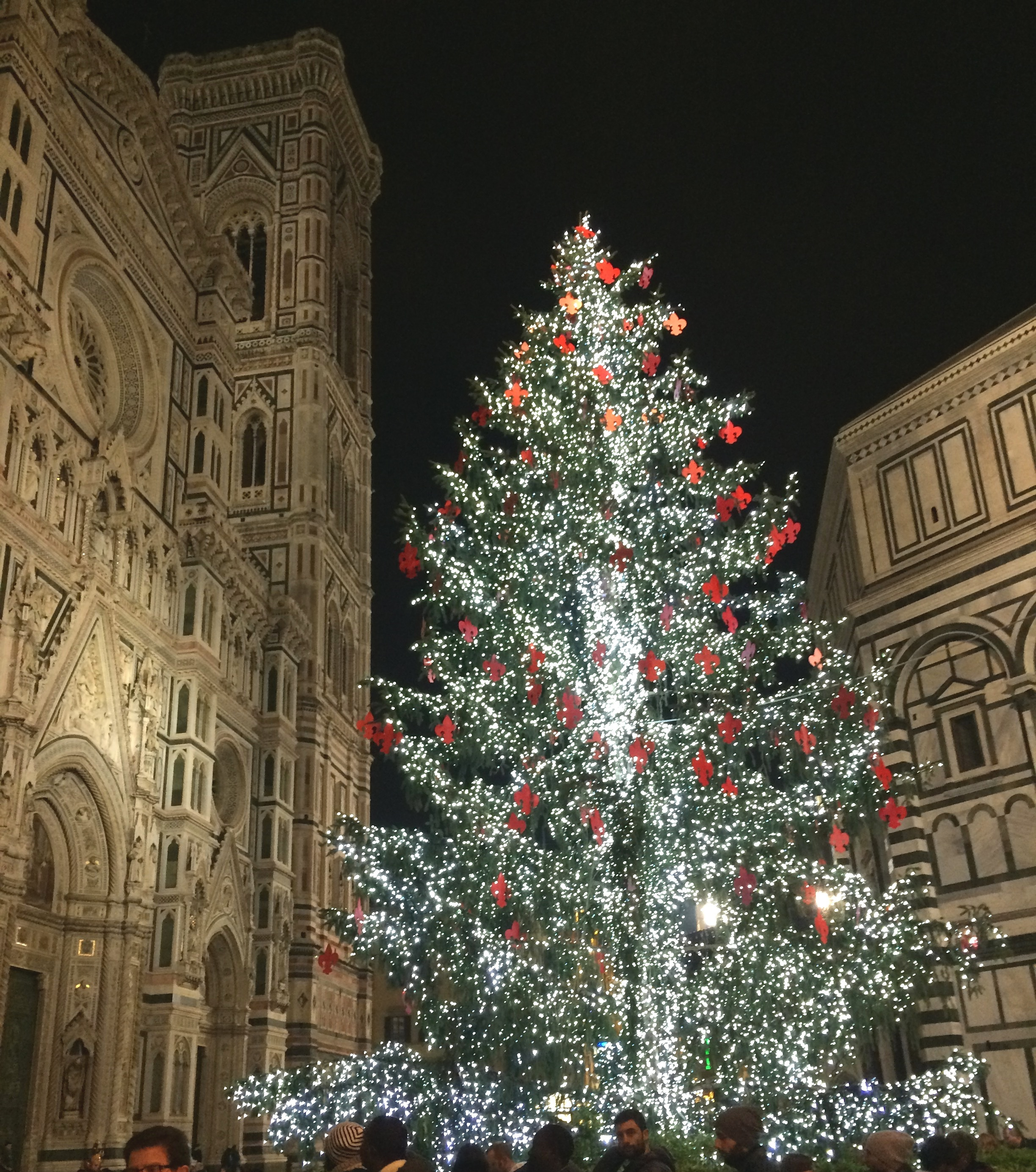 Christmas time is magical around Florence