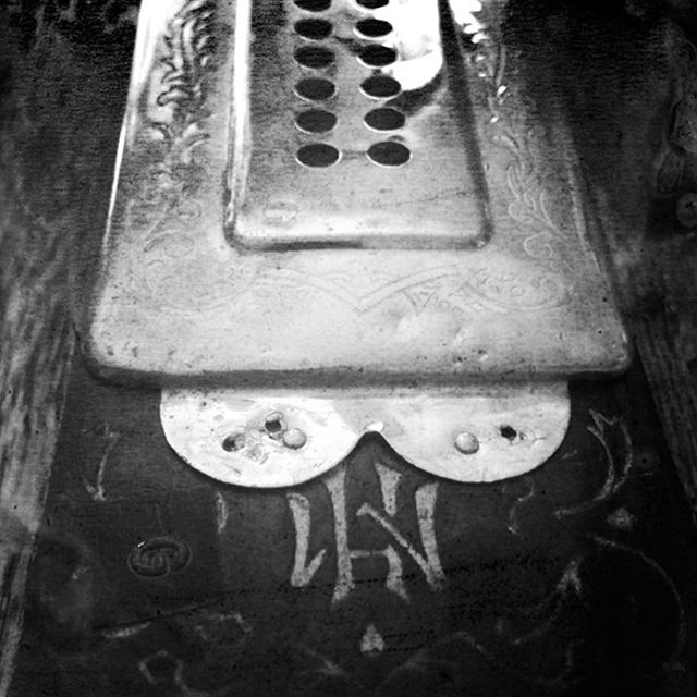 My favorite harmonica. If only it did not taste like an old man's closet. #marineband #harmonica #harmonicablues #harmonicasolo #blackandwhitephotography #bluegrassstateofmind #blackgrass #harmonicmusic