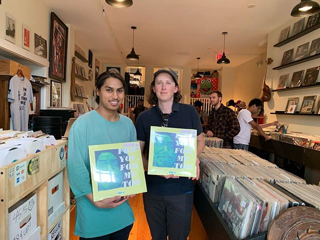 @drew_kid album is out on vinyl! Good seeing everyone