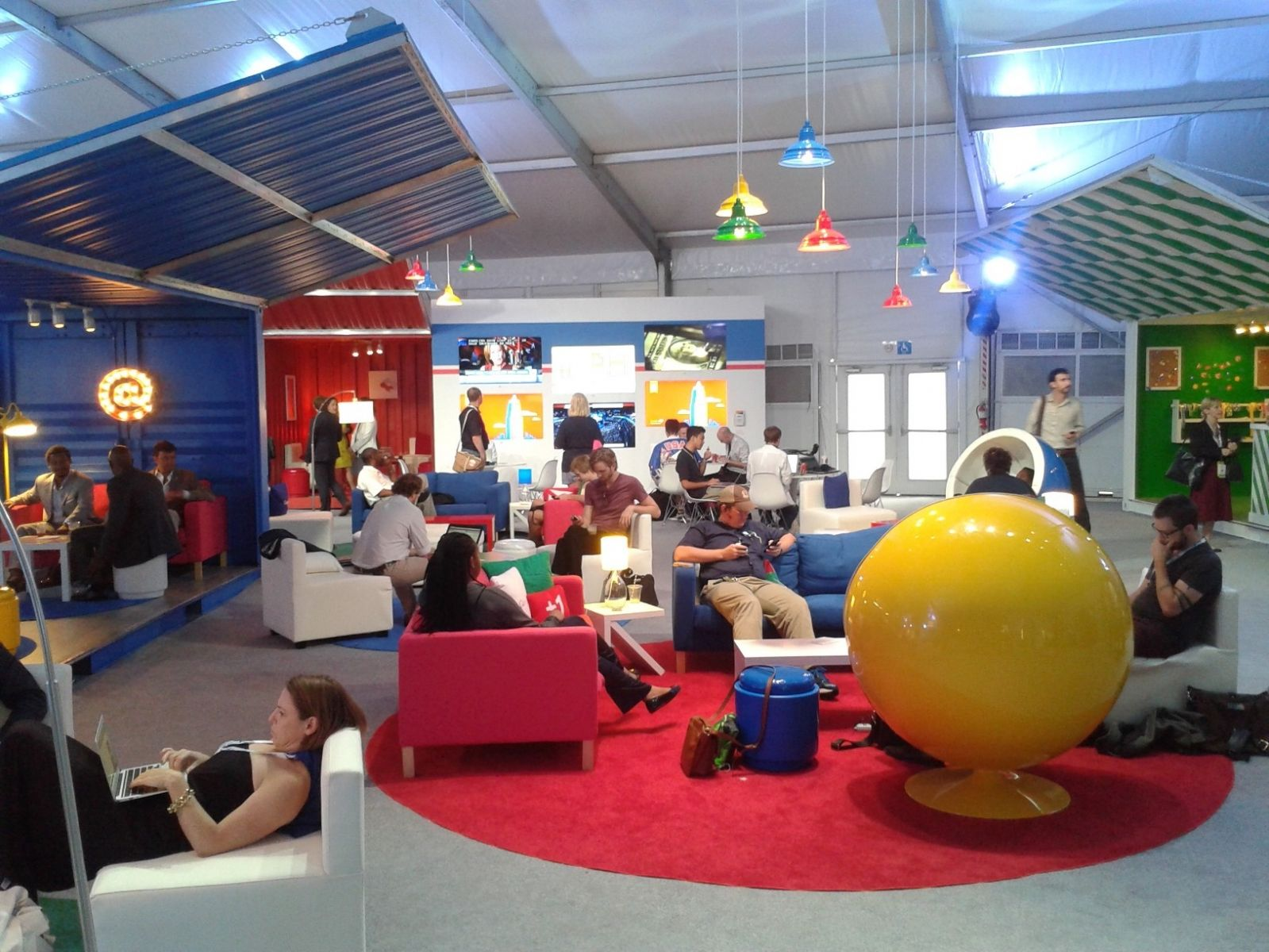 Themed functional spaces.