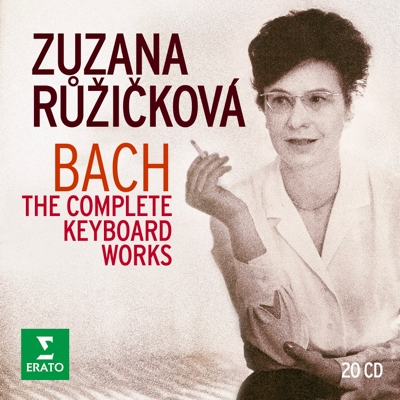 Warner Music just released a newly digitised master of Zuzana Ruzickova's entire opus on Bach, in a 20-CD box set.
