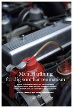 Mental träning för dig med reumatism