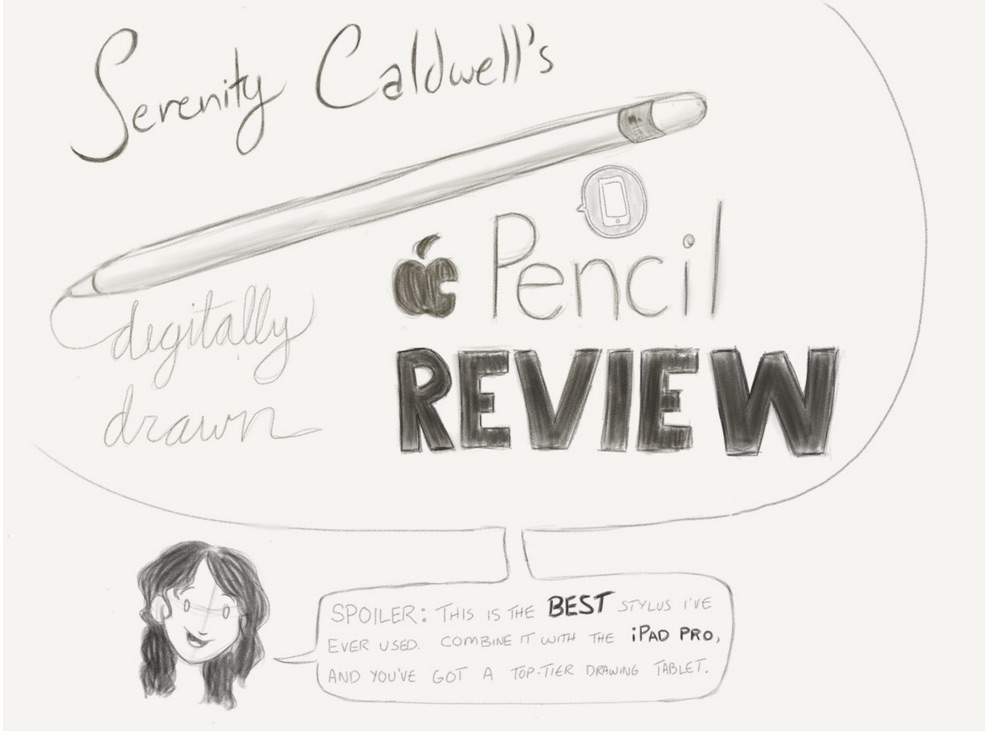 Serenity Caldwell's Apple Pencil-drawn Review of the Apple Pencil  for iMore.com.