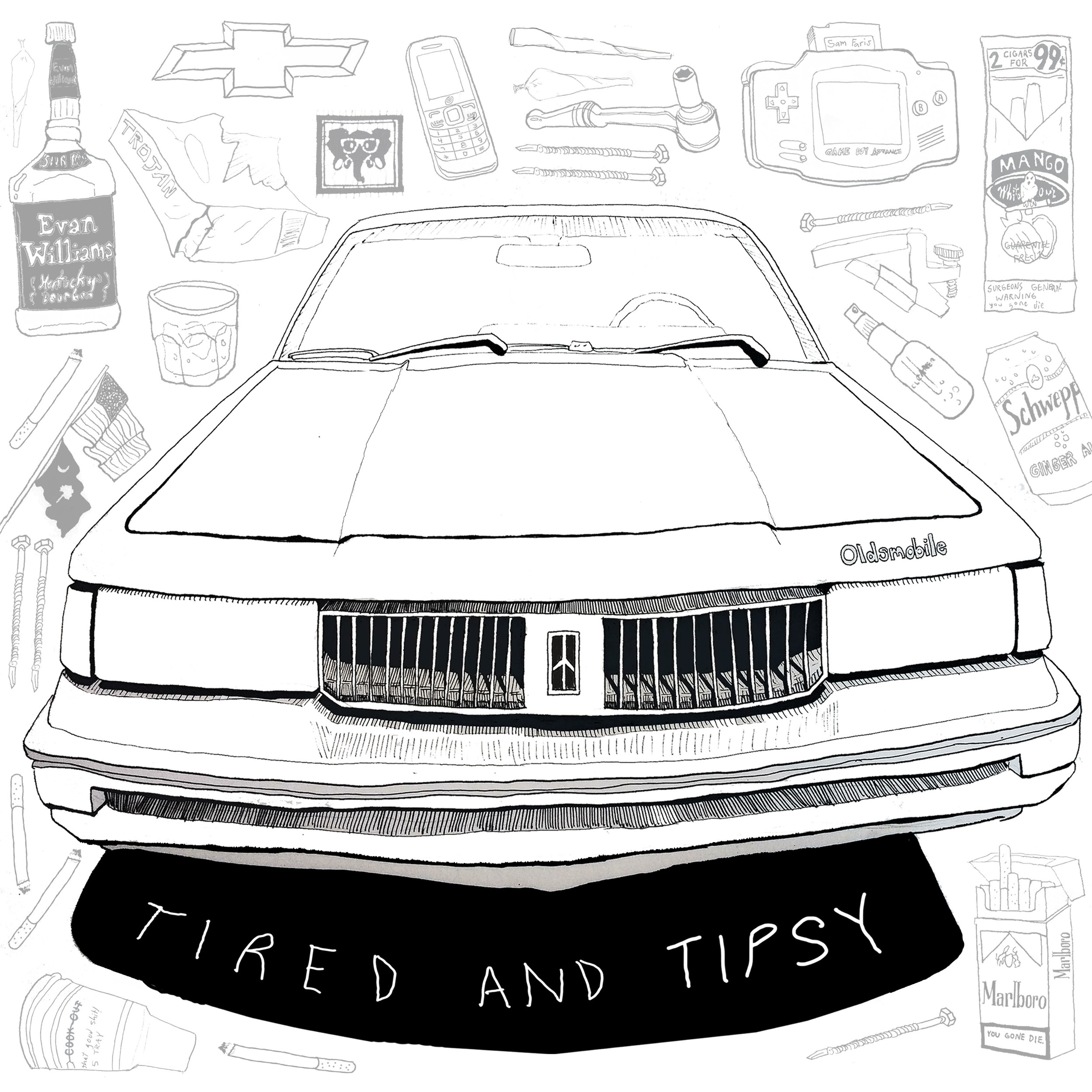Tired and Tipsy Album Artwork