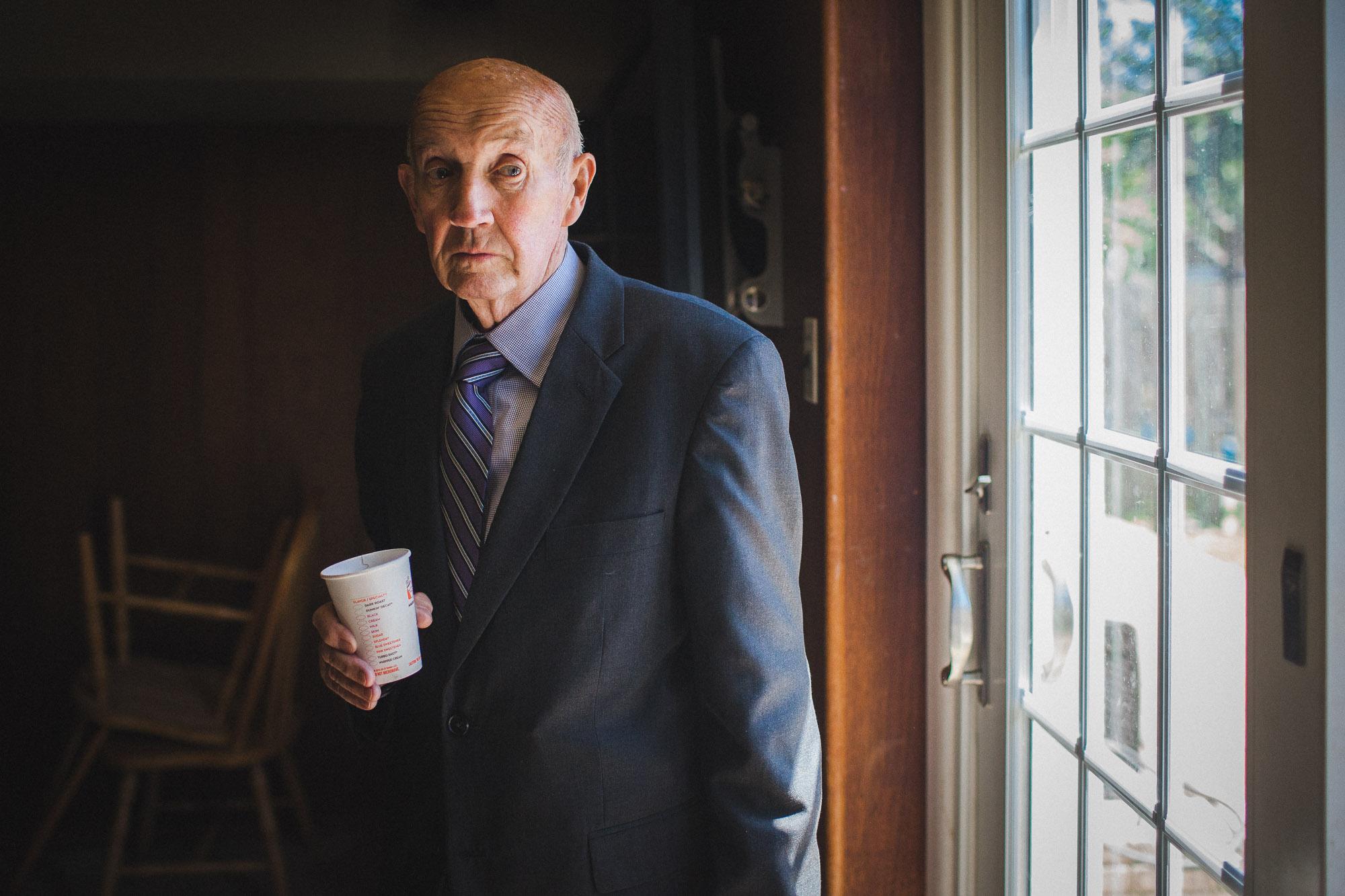 Portrait of an Irish storyteller San Francisco
