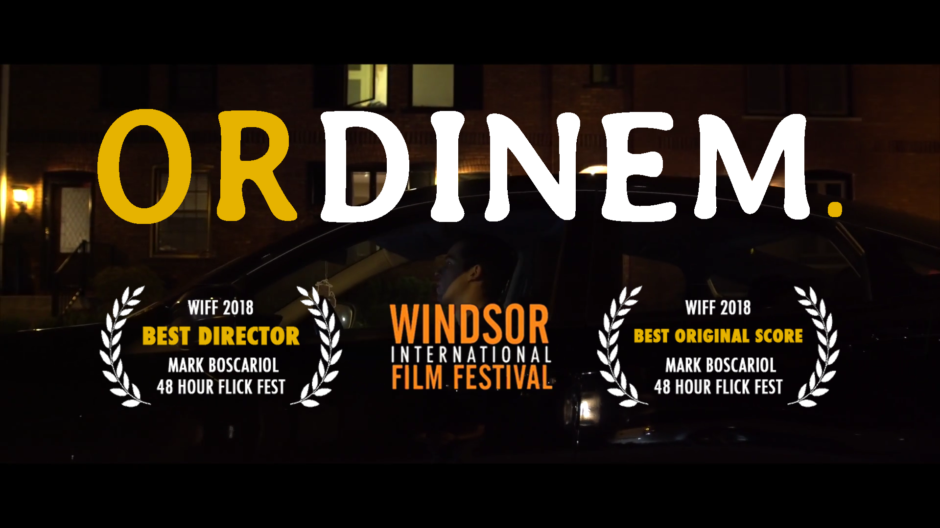 - ZUG FILMS 2018 submission to WINDSOR INTERNATIONAL FILM FESTIVAL'S48 HOUR FLICK FEST.
