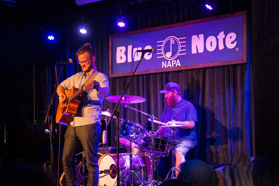 Joel and I performing together at Blue Note on Tuesday night. Photo by Kay Oneal.