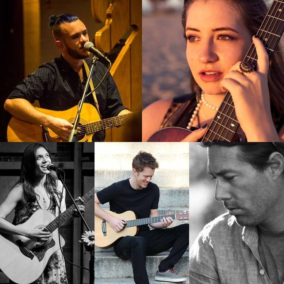 Return of the Valley Mavericks: Hosted by Zak Fennie. Clockwise from top right: Piper Hays, Clark Harding, Andrew Castro, Clementine Darling, and myself will be performing live at Blue Note Napa on Tuesday, October 9th, from 7-10 pm.