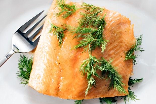 Maple Cardamom Salmon