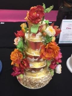 The Black Rose Bakery's award winning cake - all hand made!