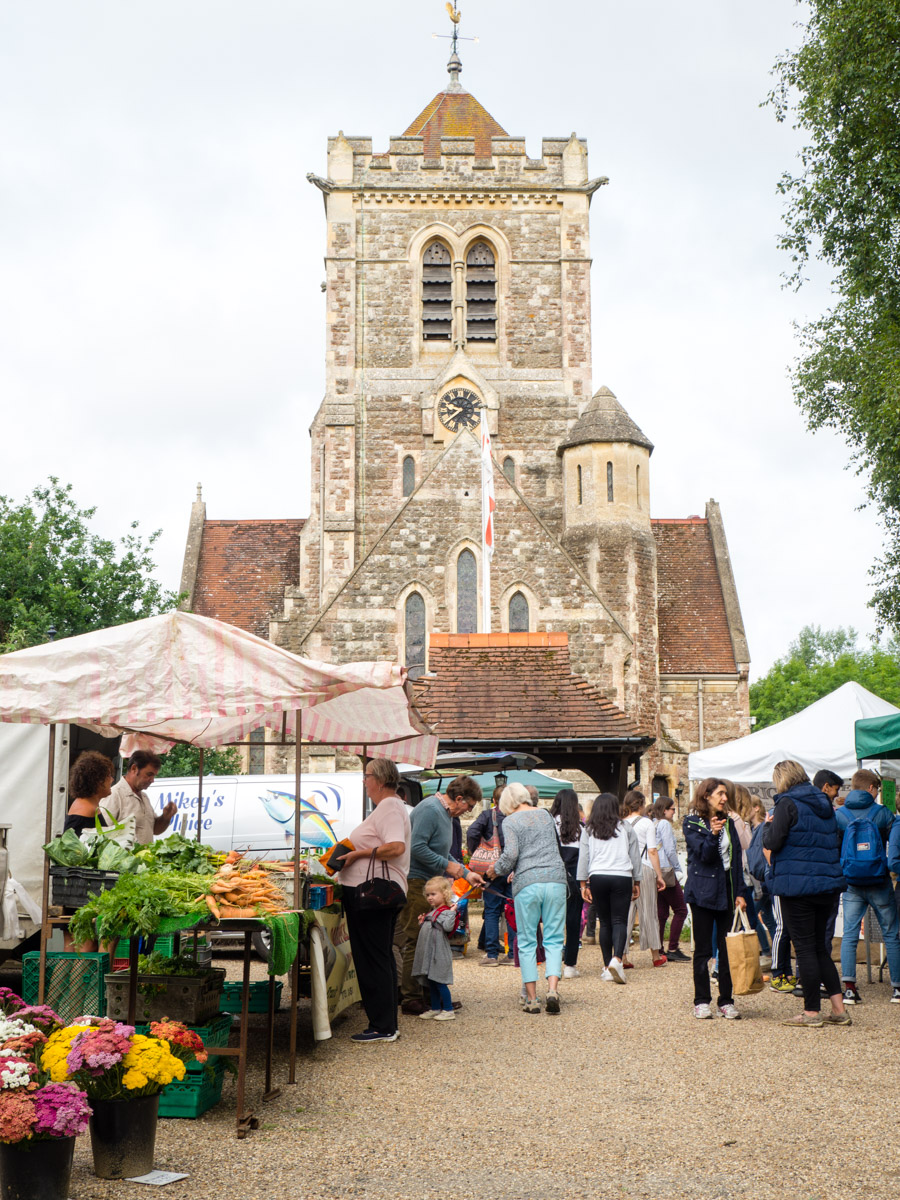 Shipbourne Farmers' Market               courtesy of Severien Vits Food Photography