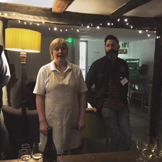 Clare Barton of The Bakehouse and Matthew Sankey of ... Sankey's!