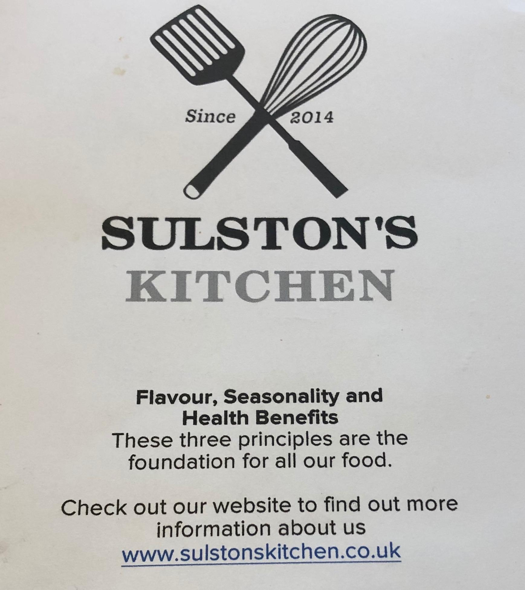 Eat Around Tonbridge Sulston's Kitchen ethos.JPG