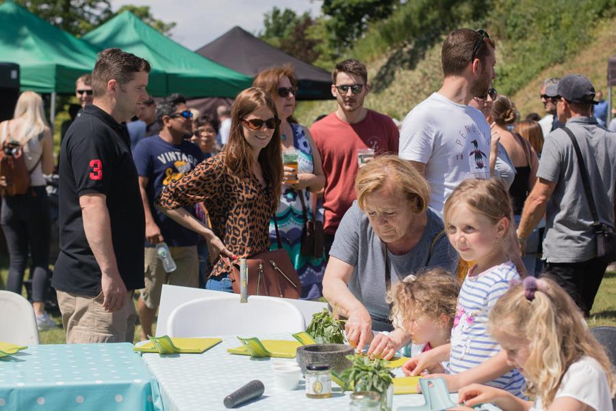 Tonbridge food and drink festival Eat Around Tonbridge 2019 people.jpg