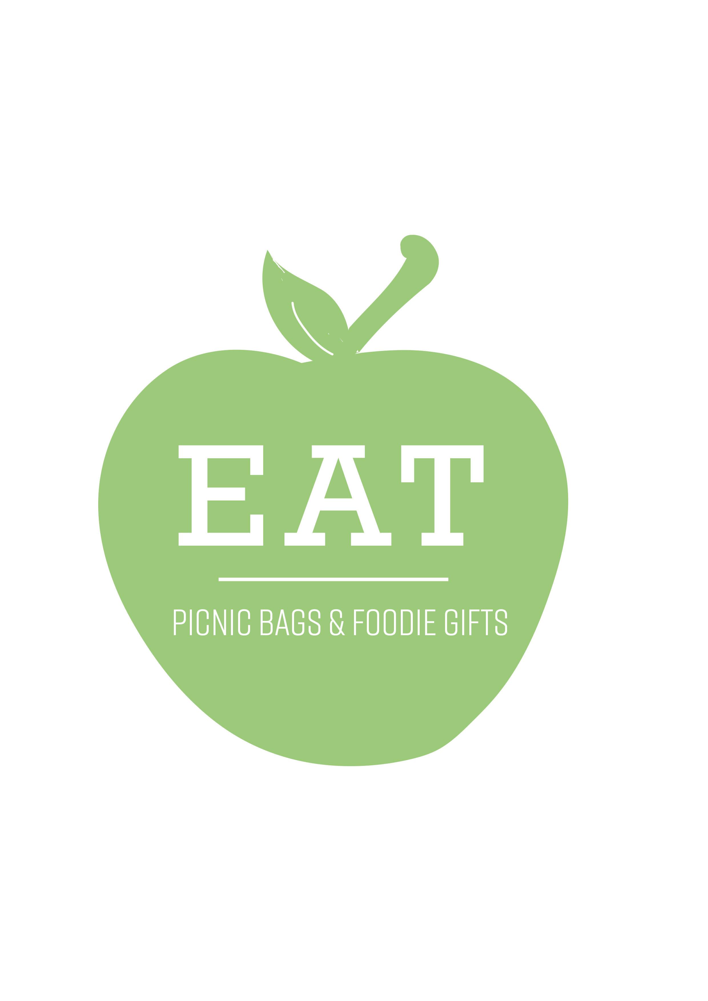 Apple logo Eat Around Tonbridge picnic bags.jpg
