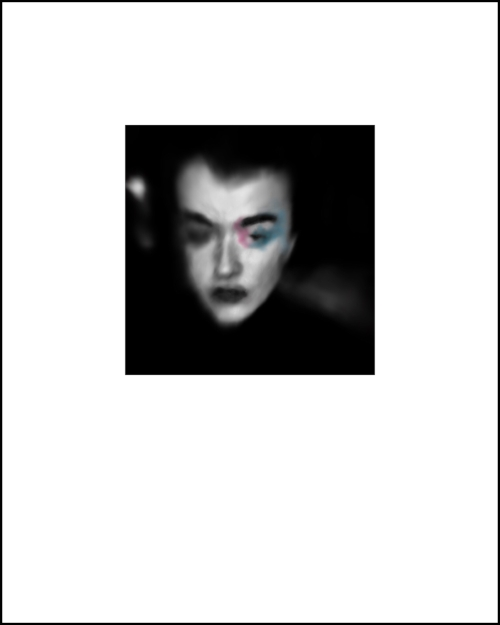 portrait 11 - print8 x10image 4 x 4