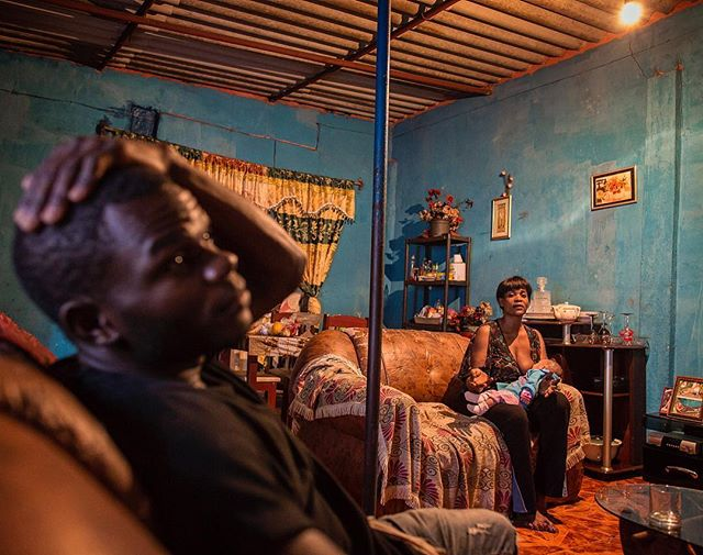Luanda, Angola shot on assignment for @natgeo My truest love in photography is with people...it's a much more nuanced dance. I don't want to say it's harder than other forms, but it comes with it's own unique challenges...like how do you find yourself into the intimacy of a home without intruding? How do you tell a story without exploiting? Do you? Is that possible? How do you get close without crossing boundaries? What is 'okay' to show and what's too much? There is an enigmatic quality to it all and the answers are never the same. There are masters of this form of storytelling, and I'm not one of them...but I look to them and their work constantly for guidance and inspiration.