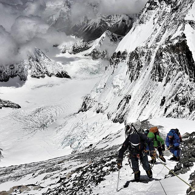 💥💪😬 #summitpush #everest2018  #RapidAscent  #Everest