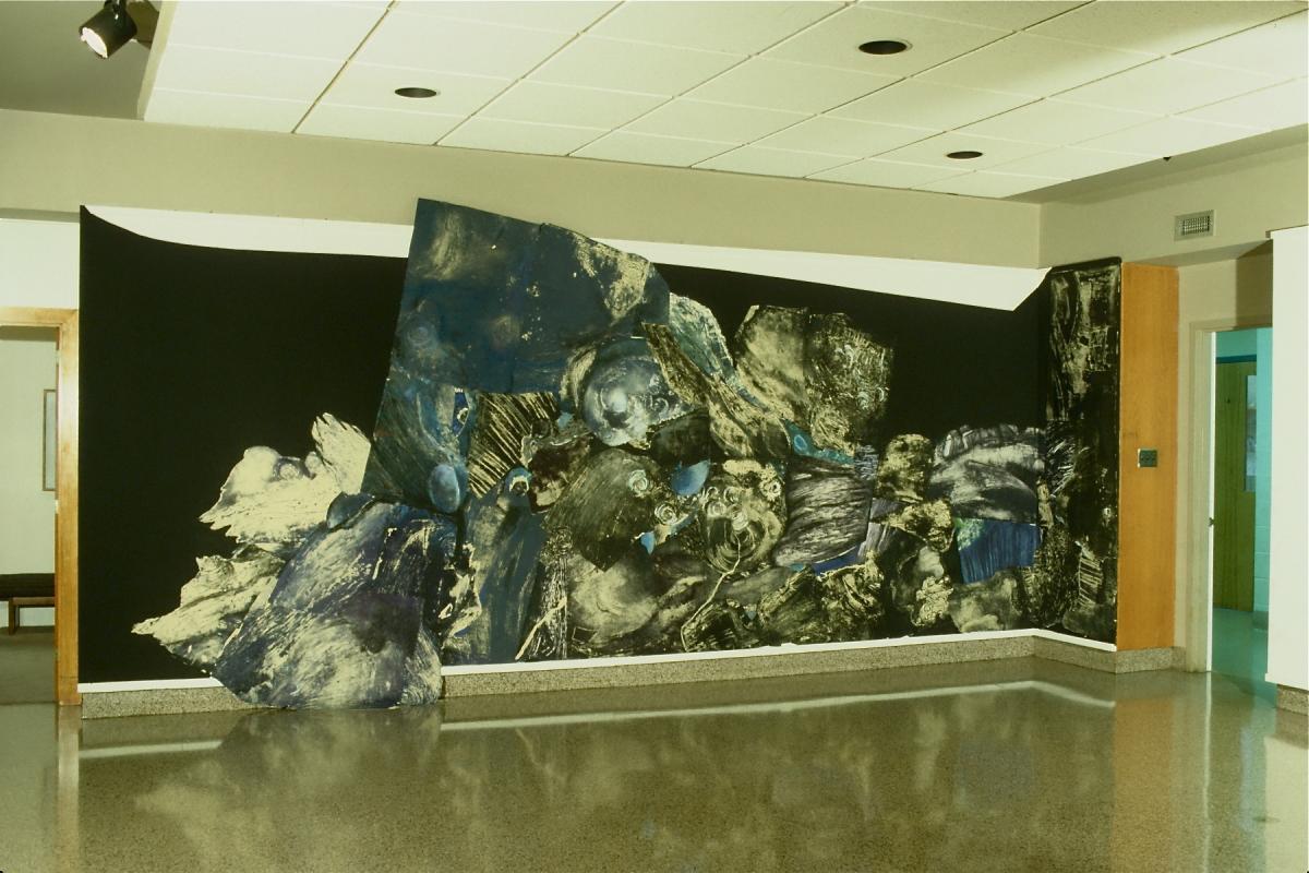 Wall Installation, prints, installation on a wall , 15 x 12 feet