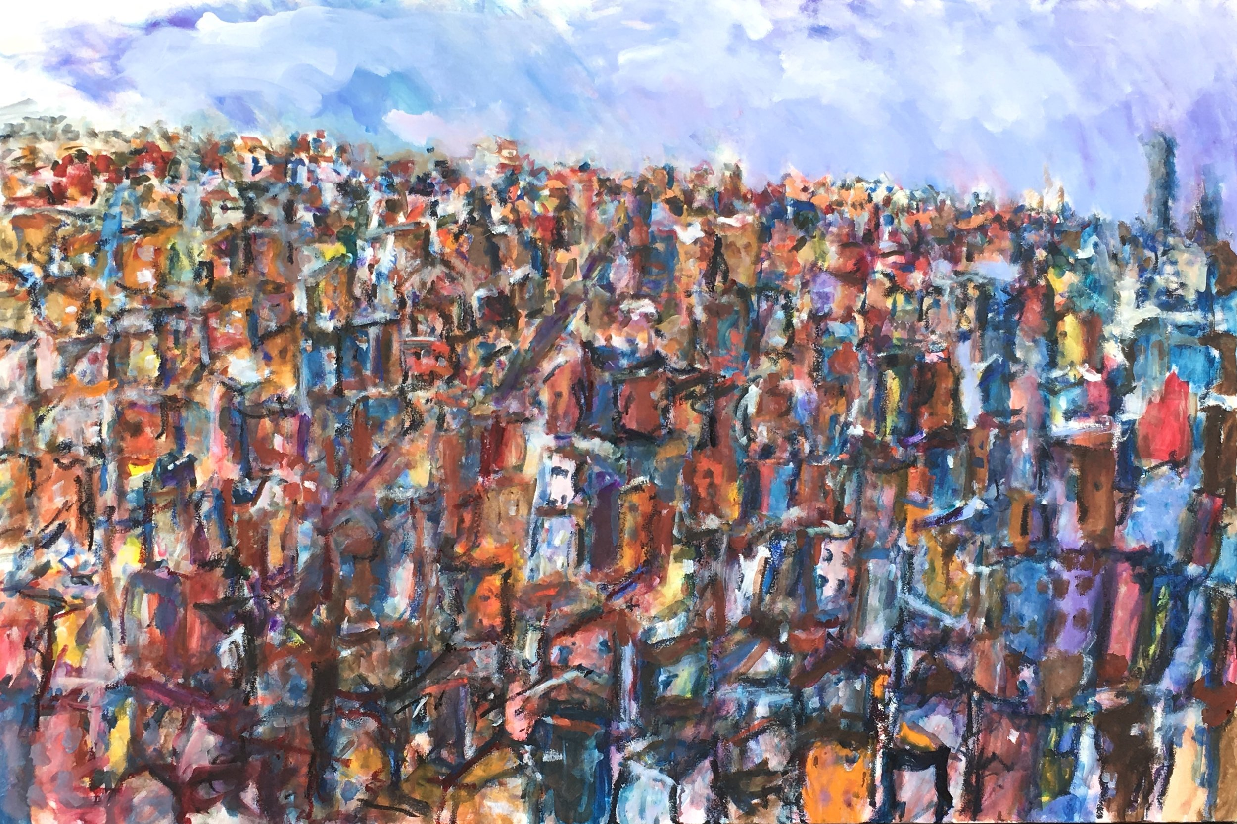 Kristine Flannery_ Imaginary City- Compassion - Original 48 x 72 - Oil on Canvas.jpg