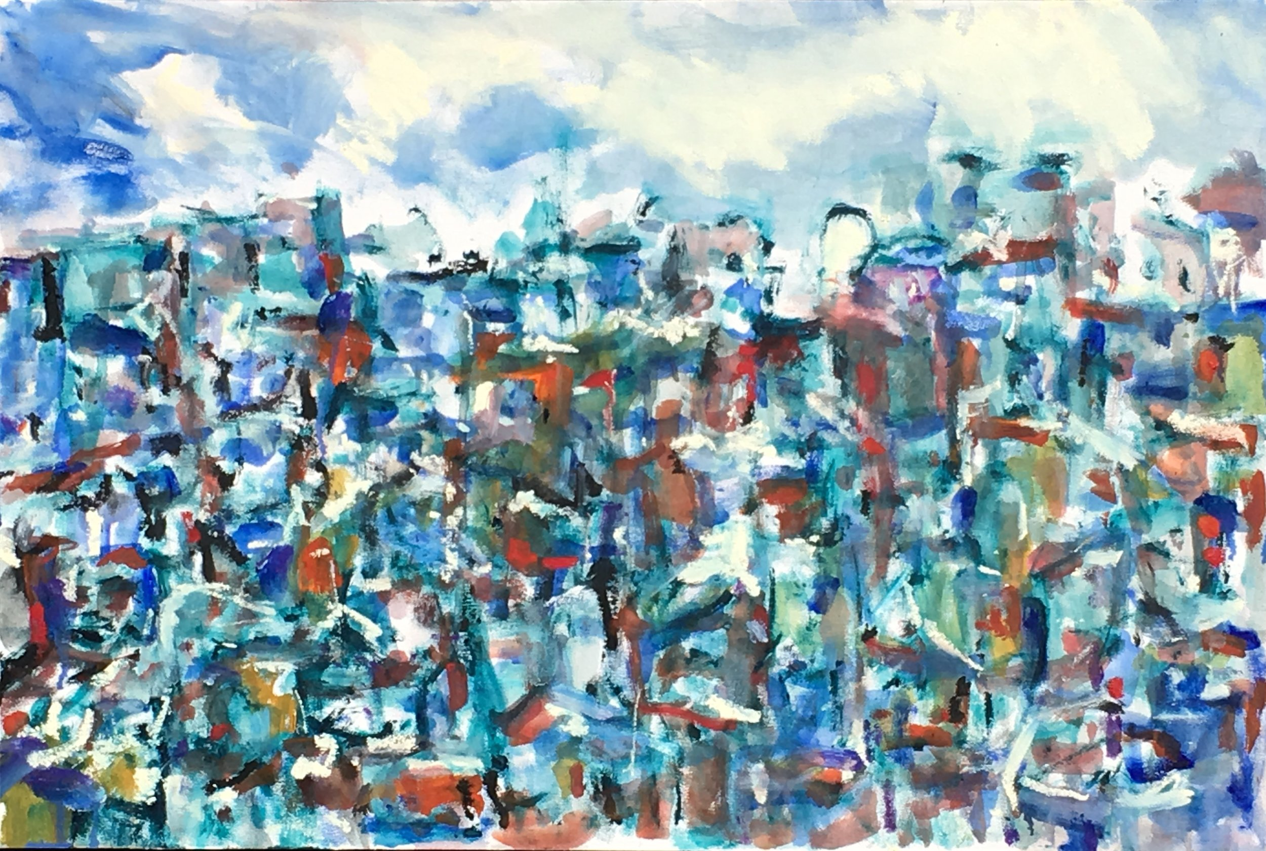 Kristine Flannery_ View of My City - Original 24 x 36 Oil on Canvas.jpg