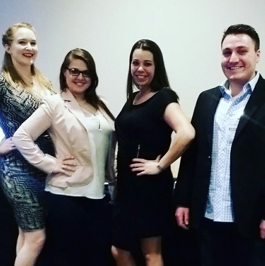 From left to right: Jessica Chavers, Paige DesJardin, Shelly Day, & Alex Kadamian