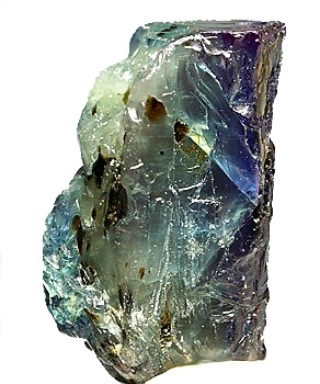 Alexandrite in the rough Photo: Manfred Kampf