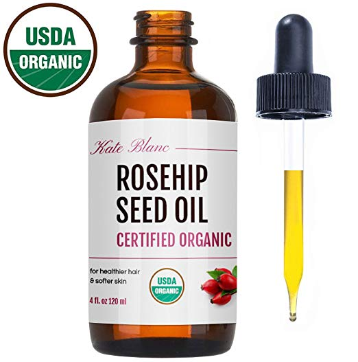 4. Organic Rosehip Seed Oil by Kate Blanc - During these winter months, my skin tends to get extremely dry and flaky. Even though I have combination skin, I find that since I've added this to my night time routine, my skin feels hydrated and supple. After cleansing and toning, I will use a serum and then add a generous layer of Rosehip Seed Oil (2 drops during summer months and 4-5 drops during winter months.)$29.99 for 4oz bottle