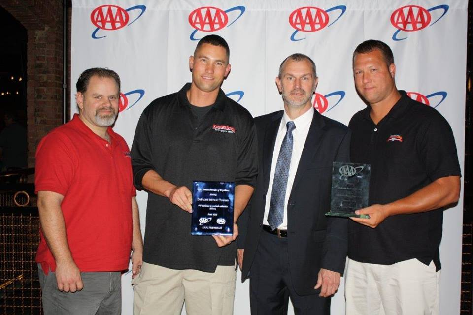 AAA ceremony for Providing Excellence in Roadside Assistance