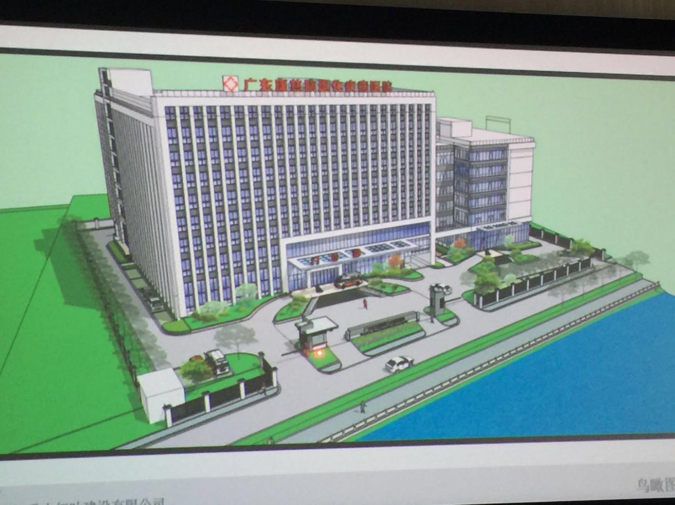 Guang Zhou Alzheimer Hospital – 600 beds