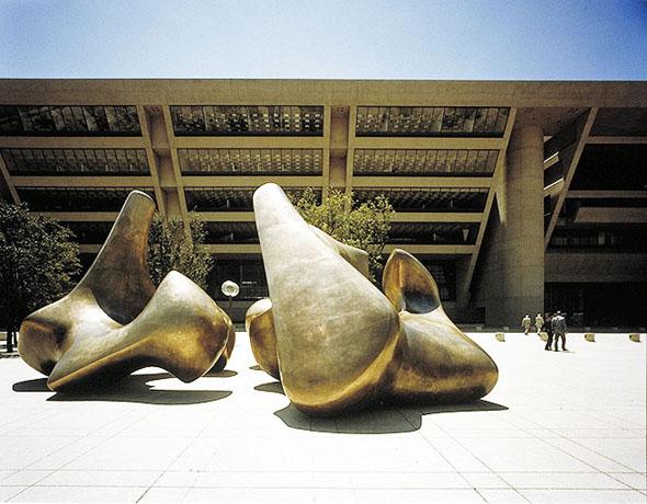 Dallas City Hall, designed by I M Pei, 1977