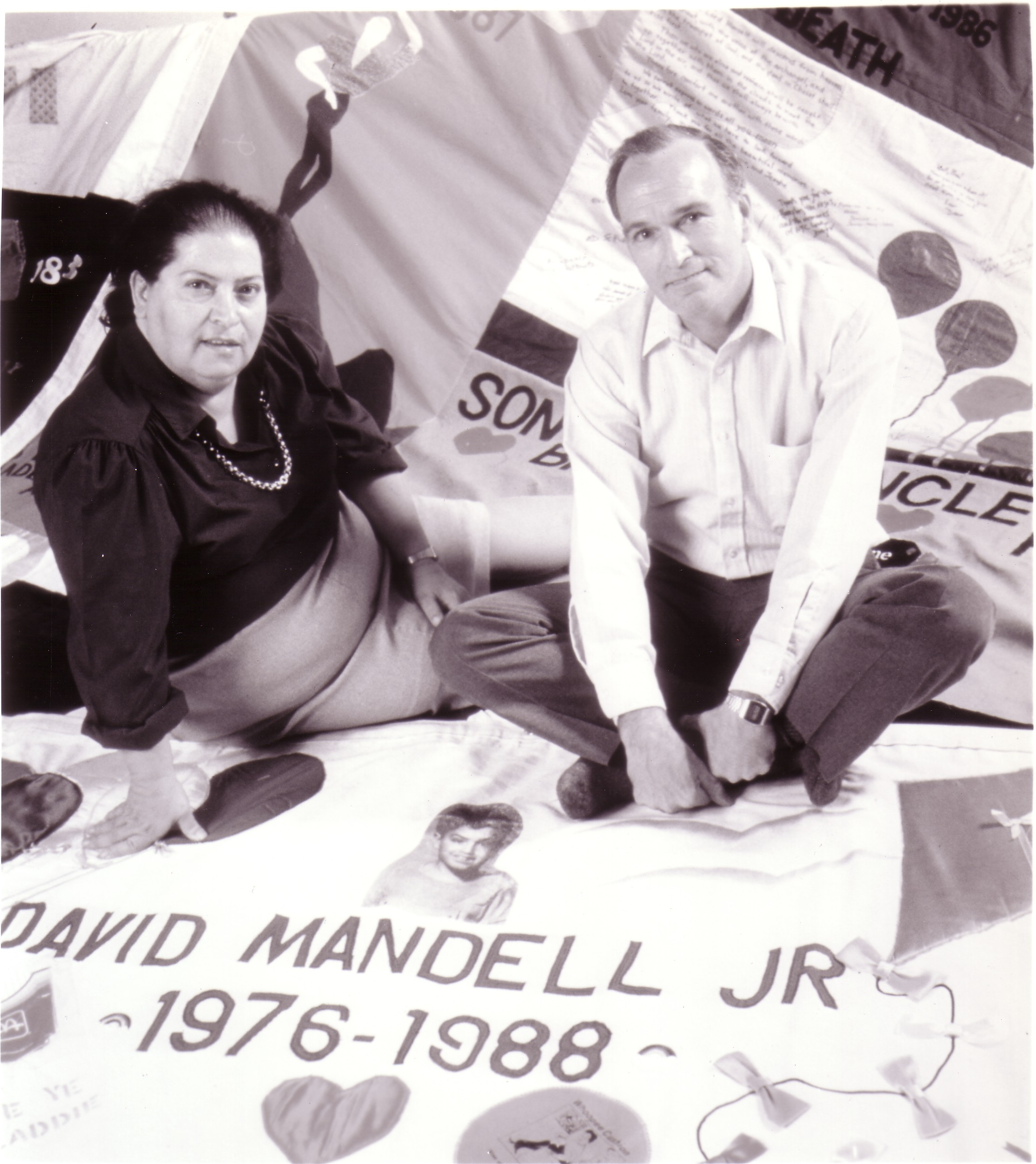 4.  Suzi and David Mandel and the panel they made for their .jpg