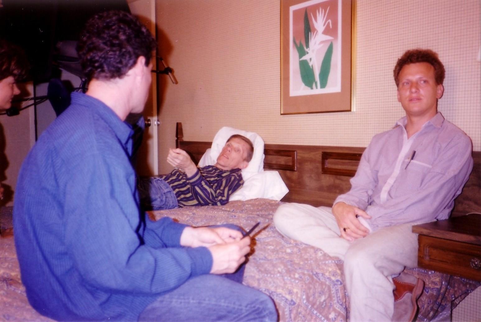 7.  First interview shoot (L-R) Jeffrey, Tracy Torrey, Rob.jpg