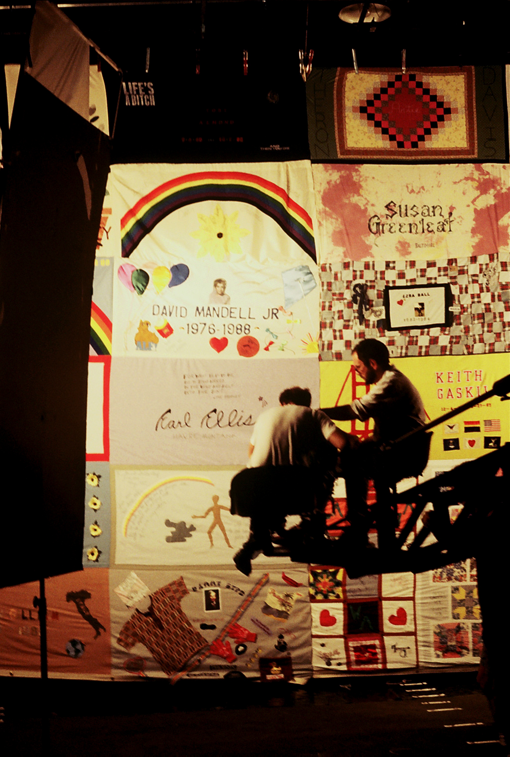 12.  Shooting the Quilt on a sound stage.JPG