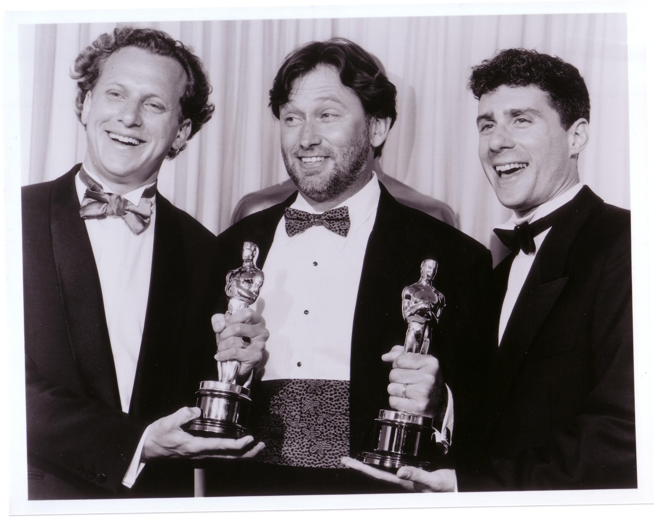 16.  Oscar Night - Rob Epstein, Bill Couturie and Jeffrey Fr.jpg