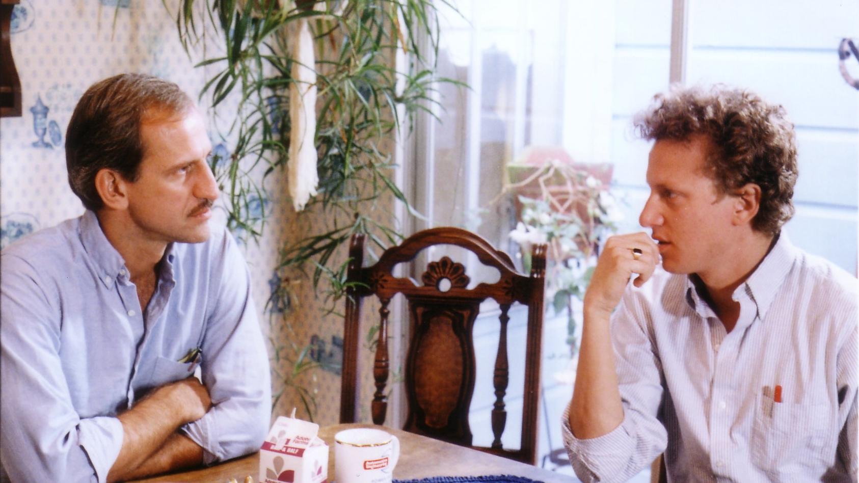 11. Richard and Rob in Jim's kitchen.jpg