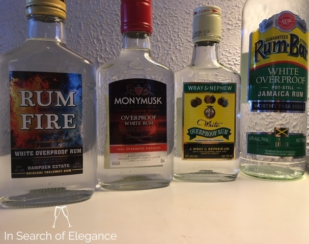 Not What You Might Expect A Few Jamaican Overproof White Rums Wray Nephew Monymusk Rum Bar And Rum Fire In Search Of Elegance