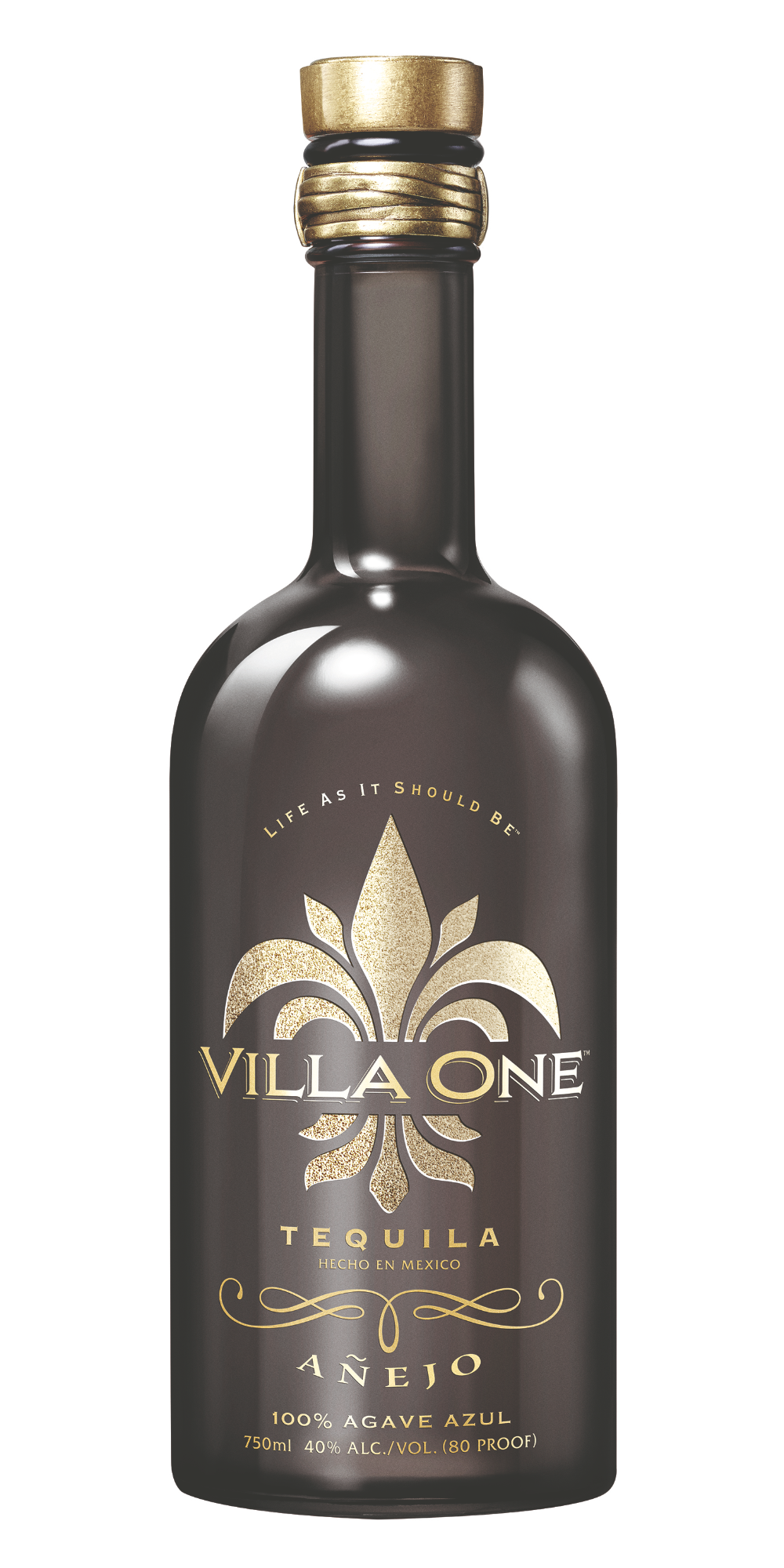 Villa One Anejo Bottle Shot.png