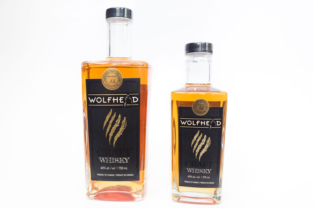 Image courtesy of Wolfhead distillery.