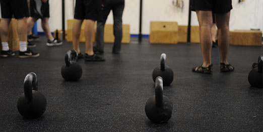 Our program is based on CrossFit methodology