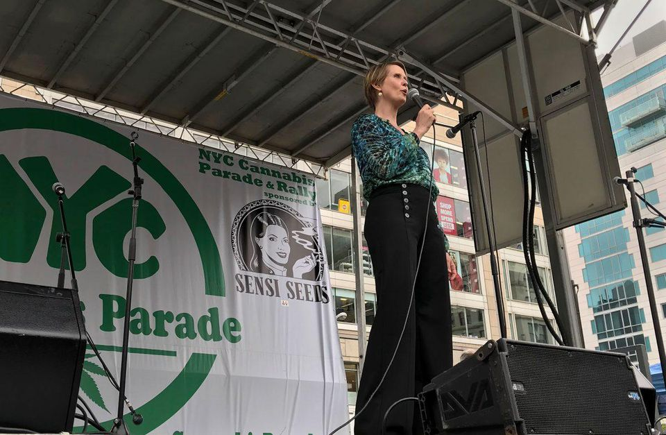 Cannabis Industry Could Be 'A Form Of Reparations,' Says Cynthia Nixon - The New York state gubernatorial candidate spoke in favor of legalization at the NYC Cannabis Parade. Meanwhile, incumbent Andrew Cuomo has yet to endorse adult-use marijuana. [Forbes]