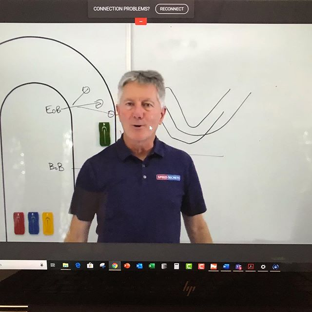40 minutes in and we're going strong with the @rossbentley #speedsecrets #chalktalk for @trackattackapp members only!  Join now at trackattack.io/sschalktalk!