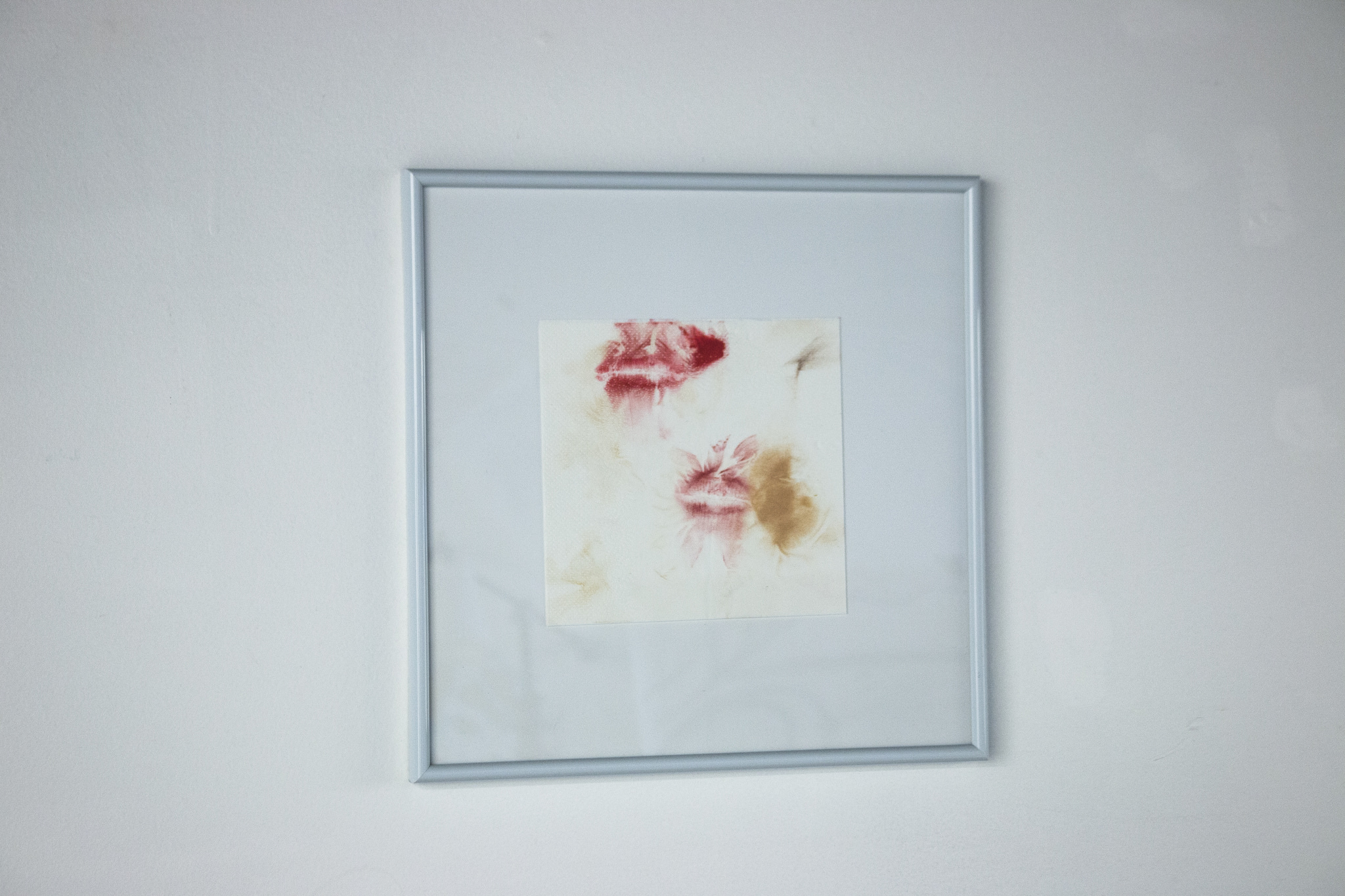 "Connor Kelly's ""f*@ck me she's gorgeous"" leaves us with remnants from a night out– phone numbers and solicitations scribbled with lipstick on napkins, a sexy anticipation that is ultimately unfulfilled, a letdown of make-up smeared napkins in the wash basin."