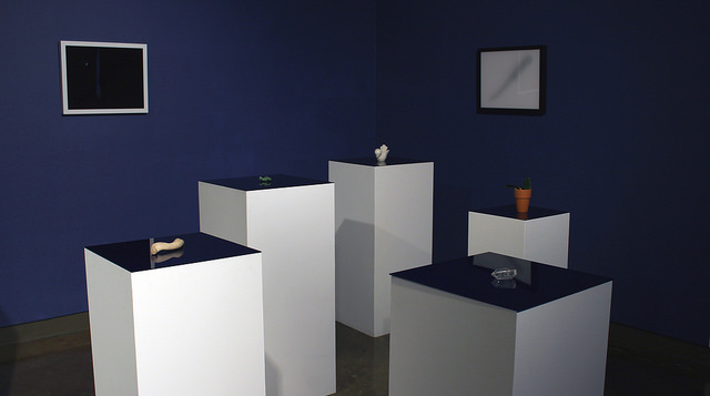 Tribble and Mancenido's   O.P.P. (Other People's Possessions) , a collection of objects picked up from the couple's series of New York City sublets, exists at the intersection of settling and transition.