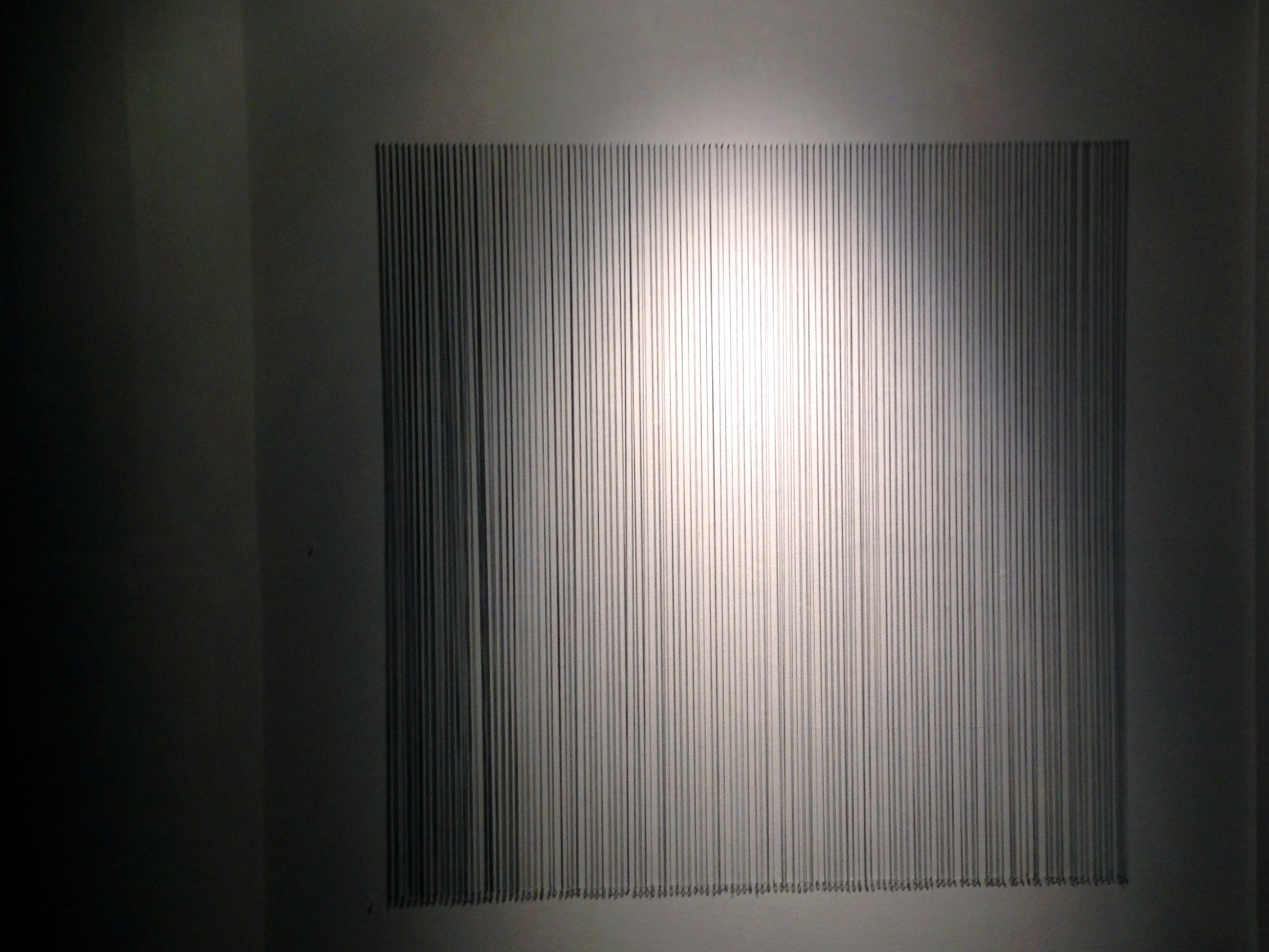 Griselda Lopez's   Calma , temporal uses light and shadow to construct the memory of a space.