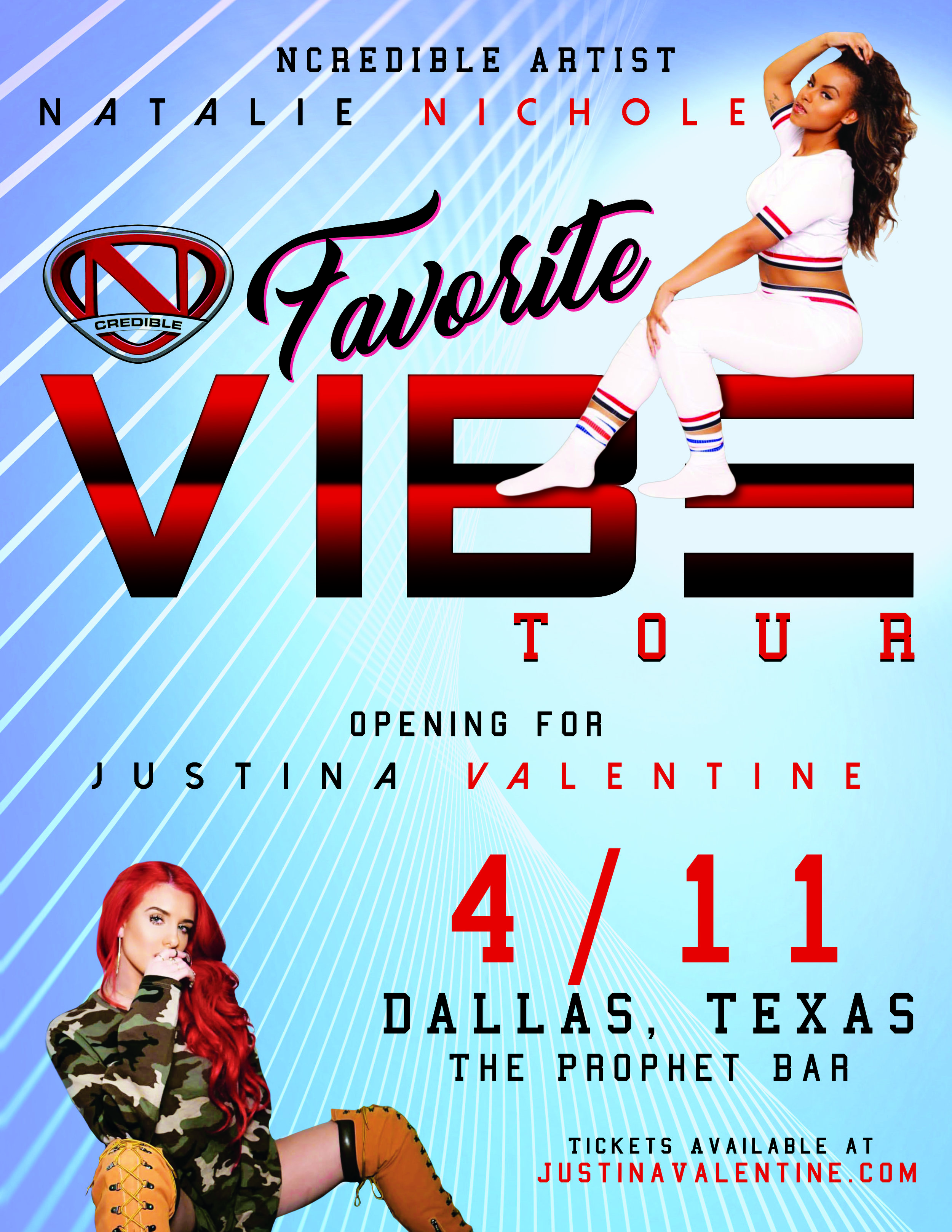 Justina Valentine Favorite Vibe Tour Dallas